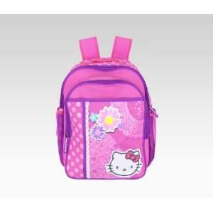 Hello Kitty Large Collage Pink Childs Backpack Baby