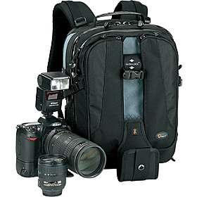 Vertex 100 AW Camera/Laptop Backpack Black/Gray
