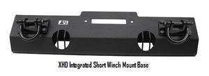 XHD Winch Mount Base Textured Black, 2007 2012 Jeep Wrangler JK
