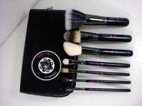 New Hello Kitty 7pcs Makeup Brush Set With Black Case