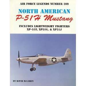 Ginter Air Force Legends North American P51H Mustang Toys & Games
