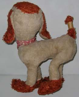 Ideal Toy Hobo Tramp Rubber Face Dog Stuffed Animal Plush Doll