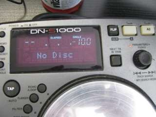 Denon DN S1000 Turntable, CD Table, DJ, Scratching, Music, Audio, Pro