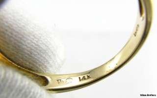 4ctw DIAMOND Bypass Design Ladies RING   14k White & Yellow Gold