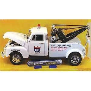 Jada JA99098W 1953 Chevrolet Highway 66 Tow Truck, White Toys & Games