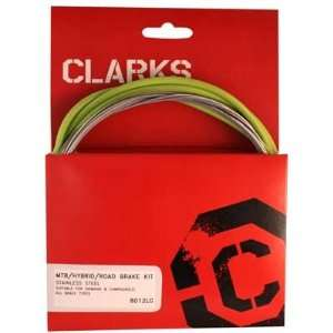 Clarks Stainless Steel Sport Brake Kit Cable Brake Clk Kit F+R Ss Spt