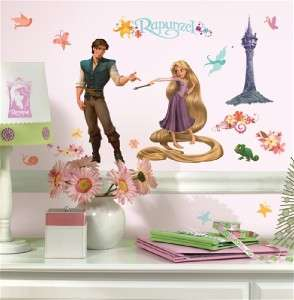 New TANGLED RAPUNZEL WALL DECALS Disney Stickers Decor 034878082394