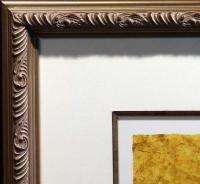 Graciela Rodo Boulanger Autour Du Monde Hand Signed Art Custom Frame