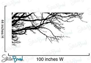 Vinyl Wall Decal Sticker Tree Top Branches 100 X 44