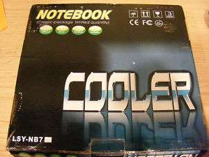 Silent USB 2.0 Laptop Cooling Pad W/Fan Speed Control