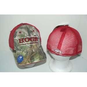 NCAA University of Arkansas Razorbacks Camo Trucker Baseball Hat