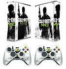 201 vinyl decal Skin Sticker for Xbox360 slim and 2 controller skins