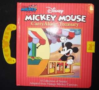 Disney MICKEY MOUSE Treasury Vintage Cartoons BOOK HC 9780794405083
