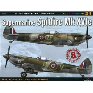 Supermarine Spitfire Mk XVIe (9788361220862): Janusz Swiatlon: Books