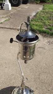 Rare American Gas Machine Co Gas Lamp Lantern AGMCO Very Unusual