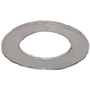 Graphite Flange Gasket, Ring, Dark Gray, Fits Class 150 Flange, 1/16