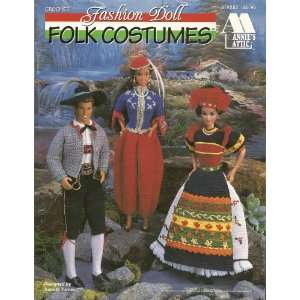 Crochet Fashion Doll Folk Costumes (Annies Attic Crochet Fashion Doll