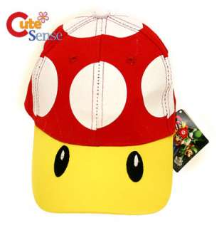 Super Mario Red Mushroom Toad Baseball Cap / Hat