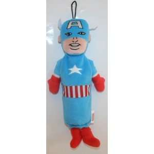 Crinkle Dog Water Bottle Capitain America Toy Pet