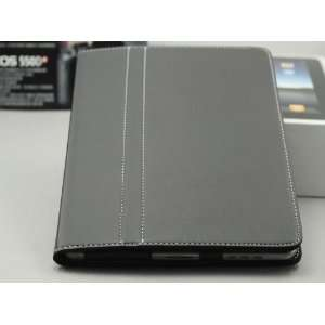 Apple Ipad Leather Case & Stand Cover Bag/black