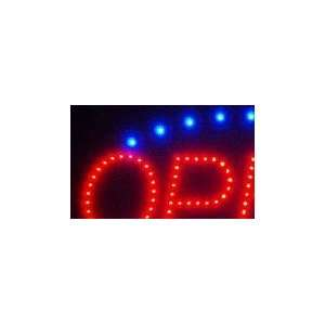 Open Monocolor Window Display LED Message Sign