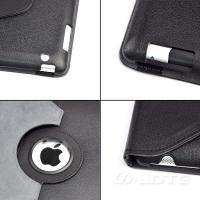 360 Smart Cover PU Leather Case Rotating Stand for Apple iPad 2 iPad 3