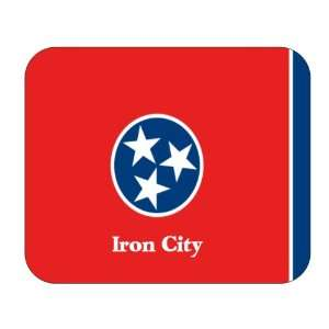 US State Flag   Iron City, Tennessee (TN) Mouse Pad