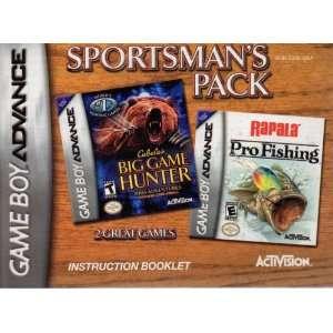 Sportsmans Pack   Cabelas Big Game Hunter & Rapala Pro