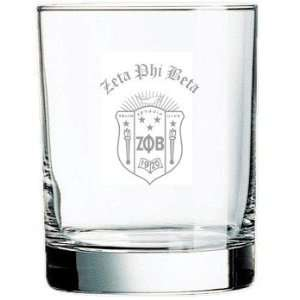 Zeta Phi Beta Rocks Glass: Everything Else
