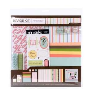 by 12 Inch Scrapbooking Page Kit, Letterbox Arts, Crafts & Sewing
