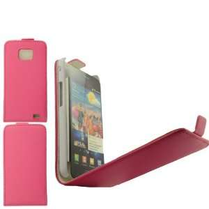 Samsung i9100 Galaxy S 2 Pink Specially Designed Leather Flip