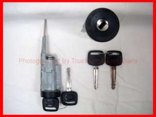 Lock Cylinder Tumbler with Keys   93 94 95 96 97 Toyota Corolla Prizm