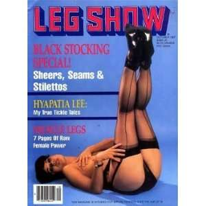 Leg Show Magazine October 1987 Hyapathia Lee: Leg Show: Books