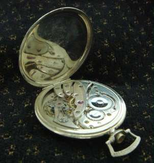 Estate Vintage Deco Mens HIGH GRADE EARLY BULOVA Pocket Watch