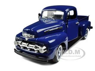 1951 FORD F 1 PICKUP TRUCK DARK BLUE 132 MODEL CAR by SIGNATURE