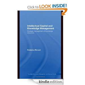 Intellectual Capital and Knowledge Management Strategic Management of