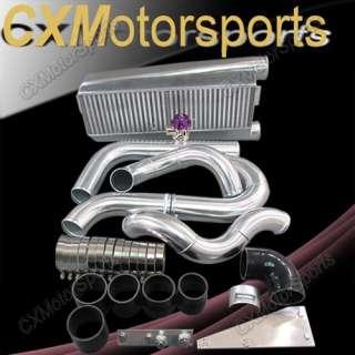 Bolt On FMIC Intercooler Kit 79 93 Fox Body Ford Mustang V8 5.0 w/BOV