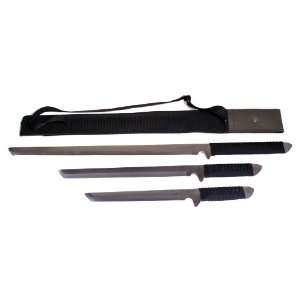 New Set of 3 Japanese Katana Samurai Sword with Sheath