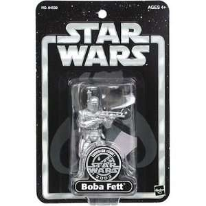 Star Wars Convention Exclusive Silver Boba Fett with Star