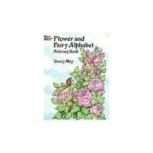 Garden Fairy Alphabet Coloring Book Toys & Games