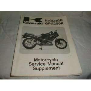 Kawasaki Ninja 250R GPZ 250R Motorcycle Service Manual