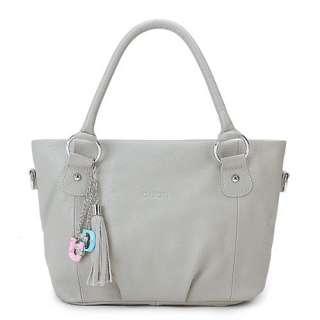 2011 NEW DUDU Soft Genuine Cow Leather Handbag Tote Bag