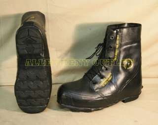 Military EXTREME COLD WEATHER  20° MICKEY MOUSE BOOTS Black w/Valve