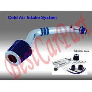 99 00 Honda Civic Ex/si Cold Air Intake + Filter Blue #Cai
