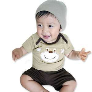New Baby Boy JuJu Infant Cotton Clothing All In One Set