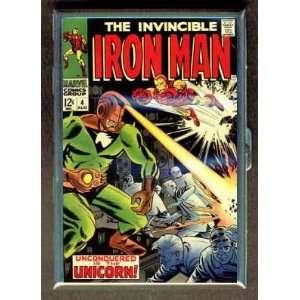 IRON MAN #4 1968 COMIC BOOK ID CIGARETTE CASE WALLET