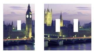 LONDON BIG BEN light switch plate, outlet covers