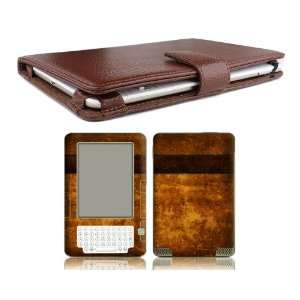 Bundle Monster Kindle 2 Genuine Leather Case Cover Jacket