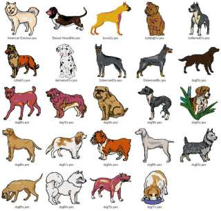 PETS / DOGS V.5 (4X4)   LD MACHINE EMBROIDERY DESIGNS
