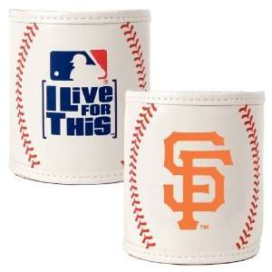 San Francisco Giants MLB 2pc Baseball Can Holder Set